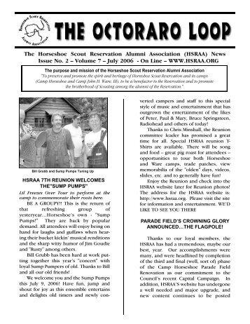 Vol 7 Issue 2 - Horseshoe Scout Reservation Alumni Association