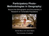 Participatory Photo-Methodologies - Faculty of Humanities & Social ...