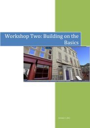 Workshop Two: Building on the Basics
