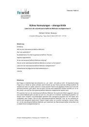 Kuehne Vermutungen - Gerhard Vollmer - TA2013- 5