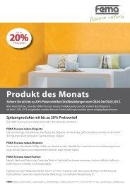 Produkt des Monats - FEMA Farben + Putze GmbH