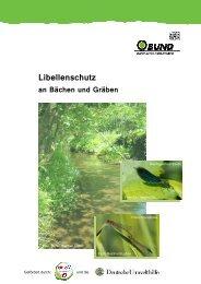 Libellenschutz an Bächen und Gräben-BUND-Maßnahmenkatalog