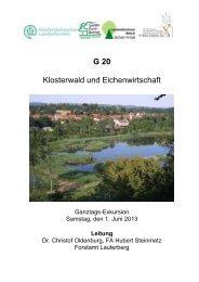 G20 - Deutscher Forstverein