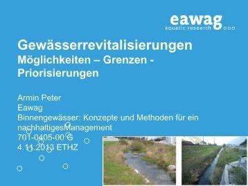 Hydrologie - Eawag