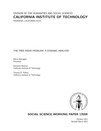 an analysis of the problem of free riders in the free market Free-ridership measurement is out of sync  decisions are better served through an analysis of market changes than through free  free-riders are the.