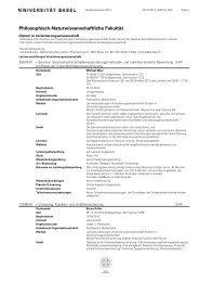Vorlesungsverzeichnis kommentiert