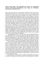 [Rez.] Norbert Reiter: das Glaubensgut der Slawen im ... - Kodeks