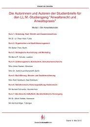 Merkblatt zur DAV-Anwaltausbildung