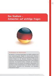 Das Studium - Deutsche Hochschule für Prävention und ...