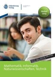 Mathematik, Informatik, Naturwissenschaften ... - Walter de Gruyter