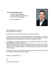 Publikationen - FHVD - Fachhochschule für Verwaltung und ...