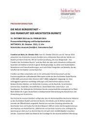 PM Die neue Bürgerstadt-Architekten Burnitz - Historisches Museum ...
