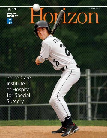 Horizon Winter 2012 pdf - Hospital for Special Surgery