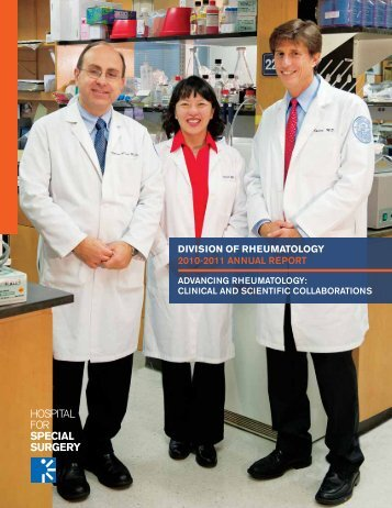 division of rheumatology 2010-2011 annual report - Hospital for ...