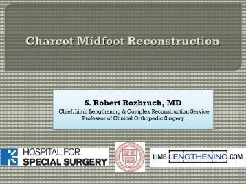 Charcot Midfoot Reconstruction