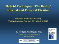 Hybrid Techniques: The Best of Internal and External Fixation ...