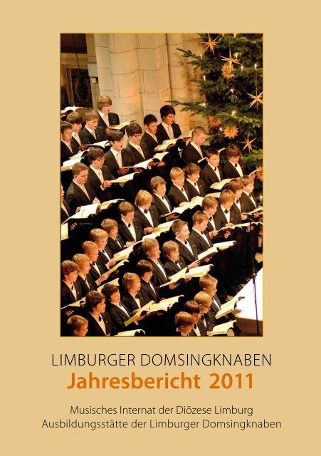 Jahresbericht 2011 - Limburger Domsingknaben