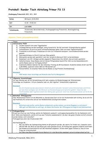 Protokoll 13.3.2013