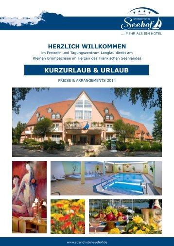 preise - Strandhotel Seehof