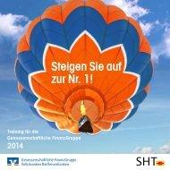 Steigen Sie auf zur Nr. 1! - Schwäbisch Hall Training GmbH
