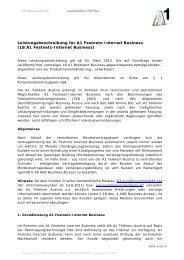 LB A1 Festnetz-Internet Business - A1.net