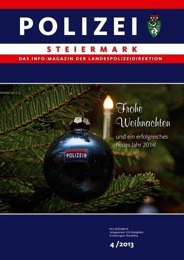 Ausgabe 4/2013 - Polizei © Polizei