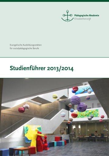 Studienführer 2013/14 - Elisabethenstift
