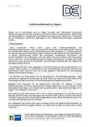Kollektives Arbeitsrecht in Ungarn - Deutsch-Ungarische Industrie ...
