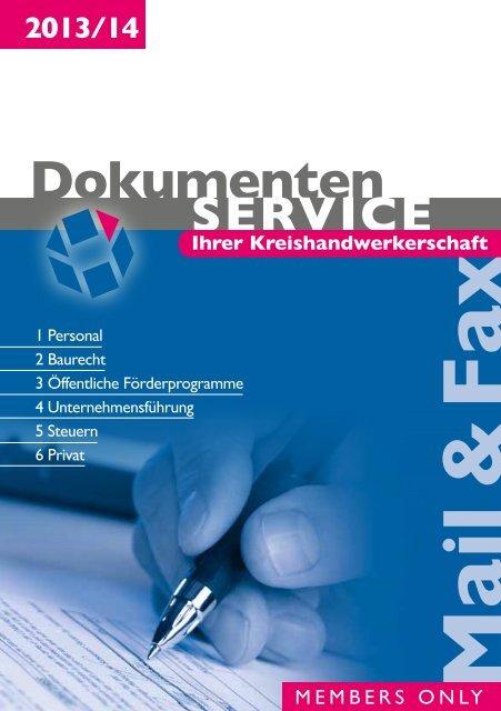 Mail & Fax - Kreishandwerkerschaft Vechta