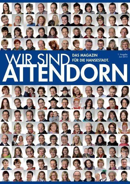 """Stadtmagazin """"Wir sind Attendorn"""" - Ausgabe 1(Das komplette ..."""