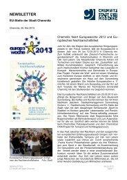 Newsletter Mai 2013 - Chemnitz