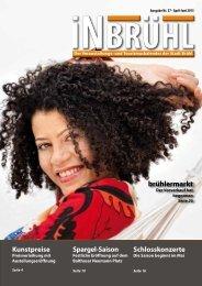 InBrühl Ausgabe Nr. 57 April bis Juni 2013 - Stadt Brühl