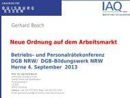 Vortrag von Prof. Dr. Gerhard Bosch (PDF, 1 MB )
