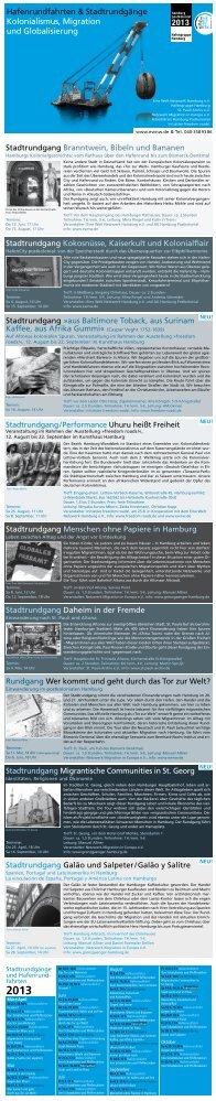 Programm-Flyer [pdf] - Eine Welt Netzwerk Hamburg eV