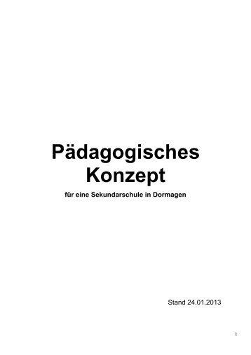 Pädagogisches Konzept - Stadt Dormagen