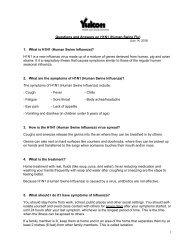 1. What is H1N1 (Human Swine Influenza)? - Health and Social ...