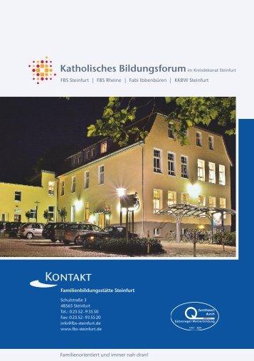 FBS-Programm 2014 - Familienbildungsstätte Steinfurt