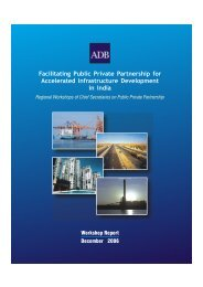 PPP for accelerated Infrastructure dvlpt in India