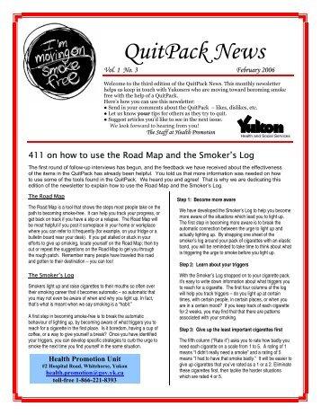 QuitPack News: 2006 02 [223.92 KB ]