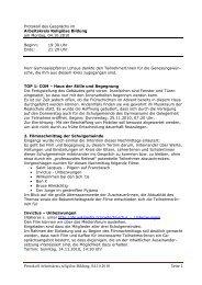21. Protokoll der Sitzung vom 04.10.2010