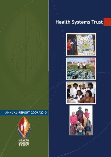 Annual Report 09/10 - Health Systems Trust