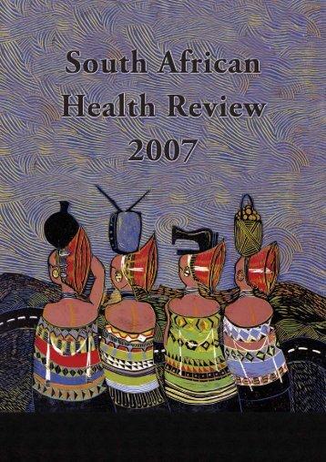 SAHR 2007 - Health Systems Trust