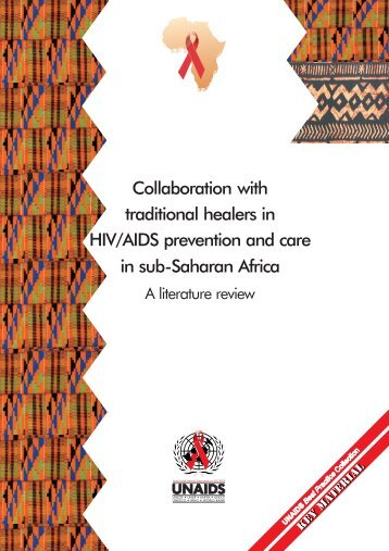 Collaboration with traditional healers in HIV/AIDS prevention - unaids