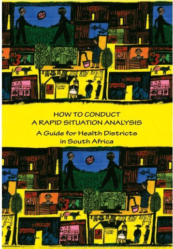 HOW TO CONDUCT A RAPID SITUATION ANALYSIS A Guide for ...