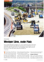 6-Spur-Ausbau Autobahn Härkingen-Wiggertal (Baublatt August 2013)
