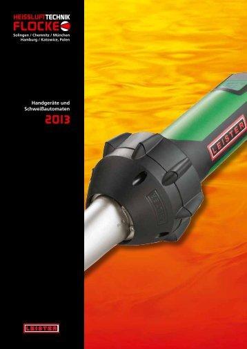 "Katalog ""Handgeräte 2013"" - HEISSLUFTTECHNIK Flocke GmbH"