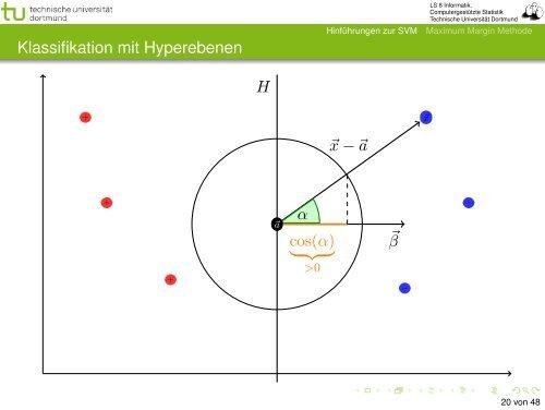 Vorlesung Wissensentdeckung - Stützvektormethode