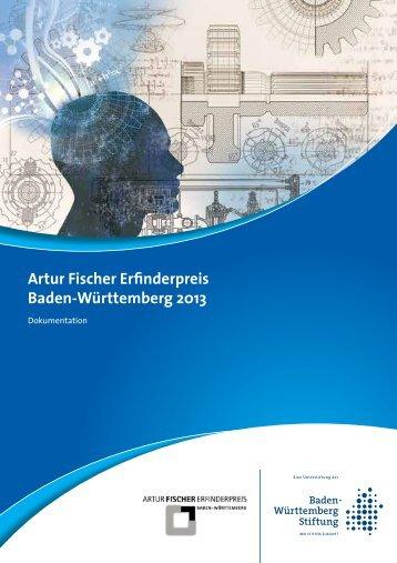 Dokumentation Artur Fischer Erfinderpreis 2013 - Baden ...