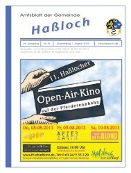 Nr. 31 - Gemeinde Haßloch