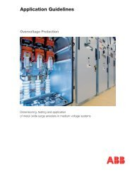 Application Guidelines Overvoltage Protection